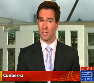 Reporting from Canberra
