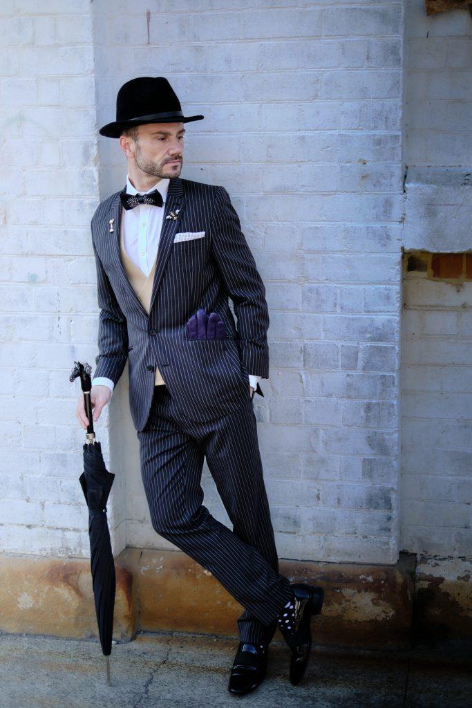 Neil Carpenter dressed in suit